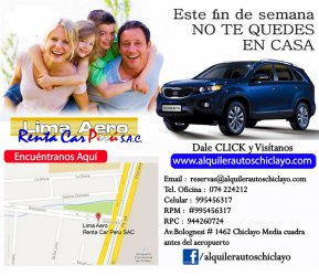 12c7b5bb3 Alquiler de autos toyota yaris, camionetas hilux 4x4, camionetas cerradas  toyota - Chiclayo